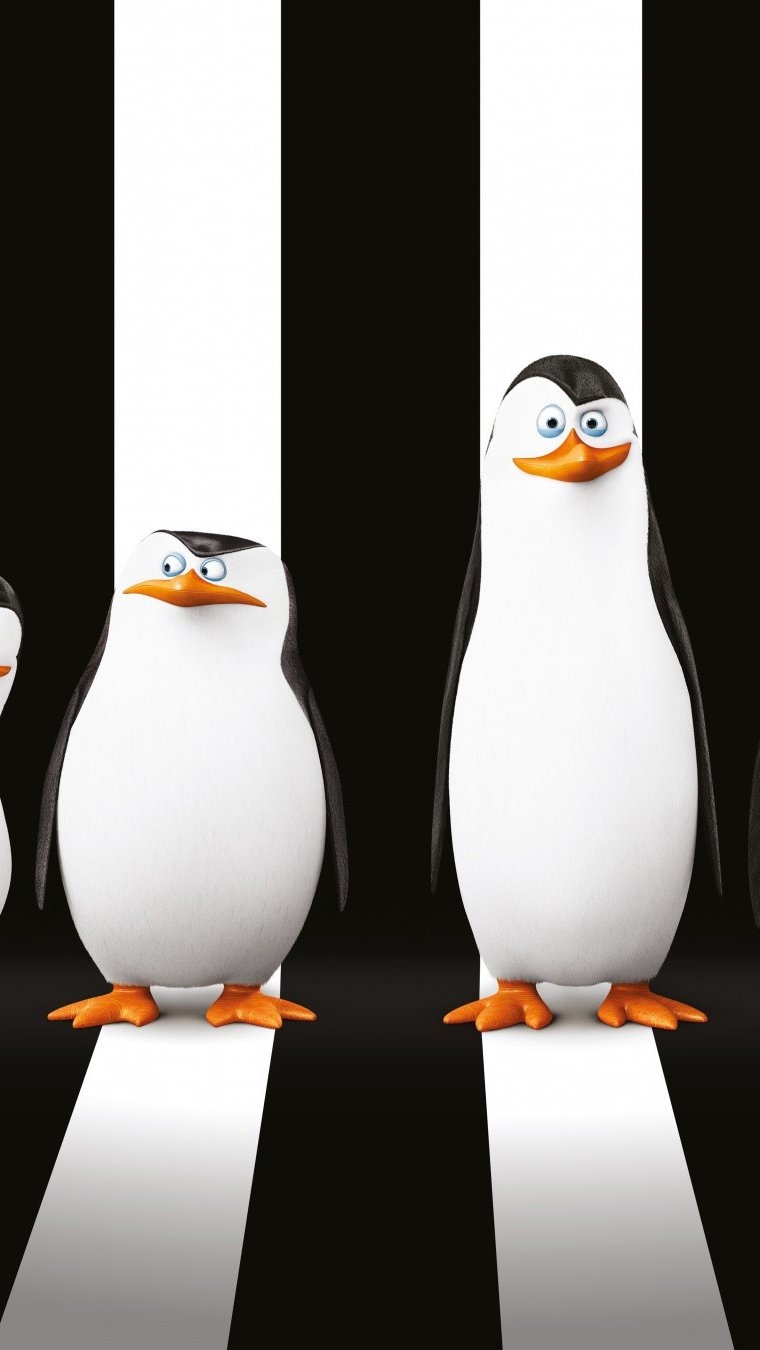 Fondos de pantalla Pingüinos de Madagascar Vertical