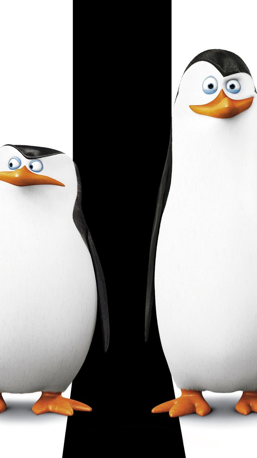 Wallpaper Penguins of Madagascar Vertical