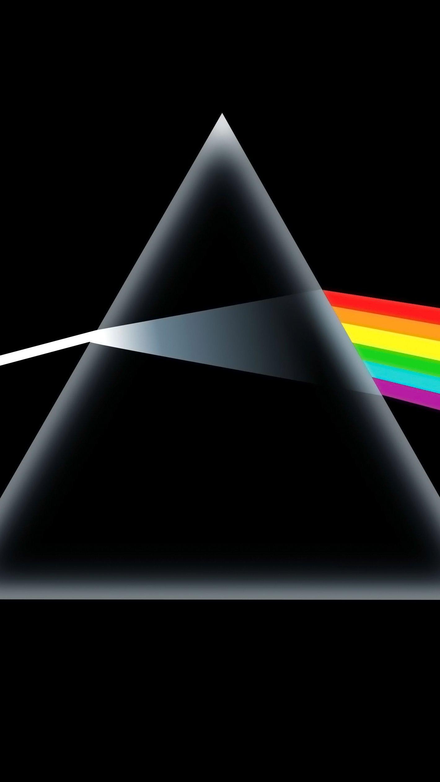 Wallpaper Pink Floyd - The Dark Side of the Moon Vertical