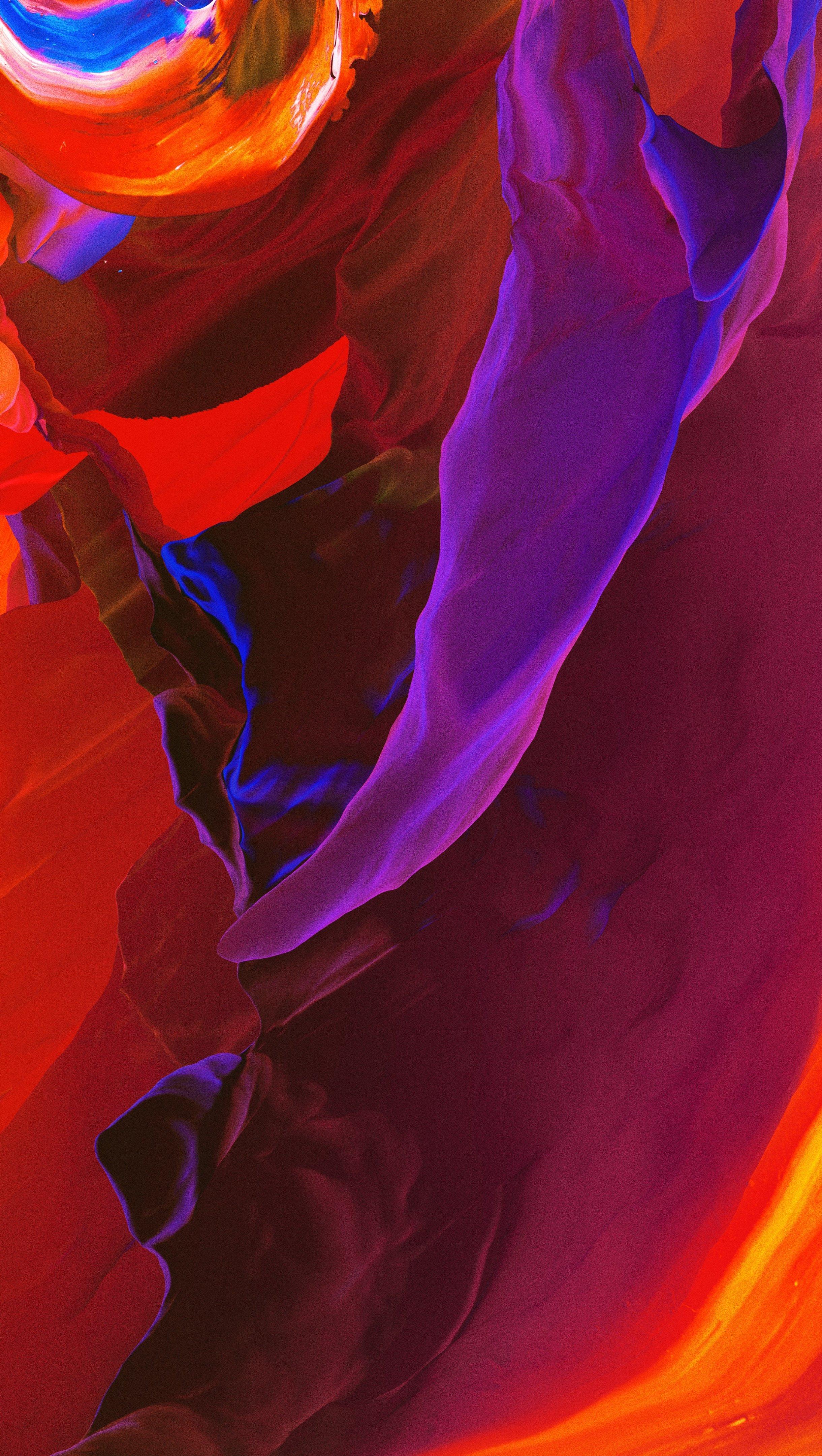 Fondos de pantalla Pinturas en figuras coloridas y abstractas Vertical