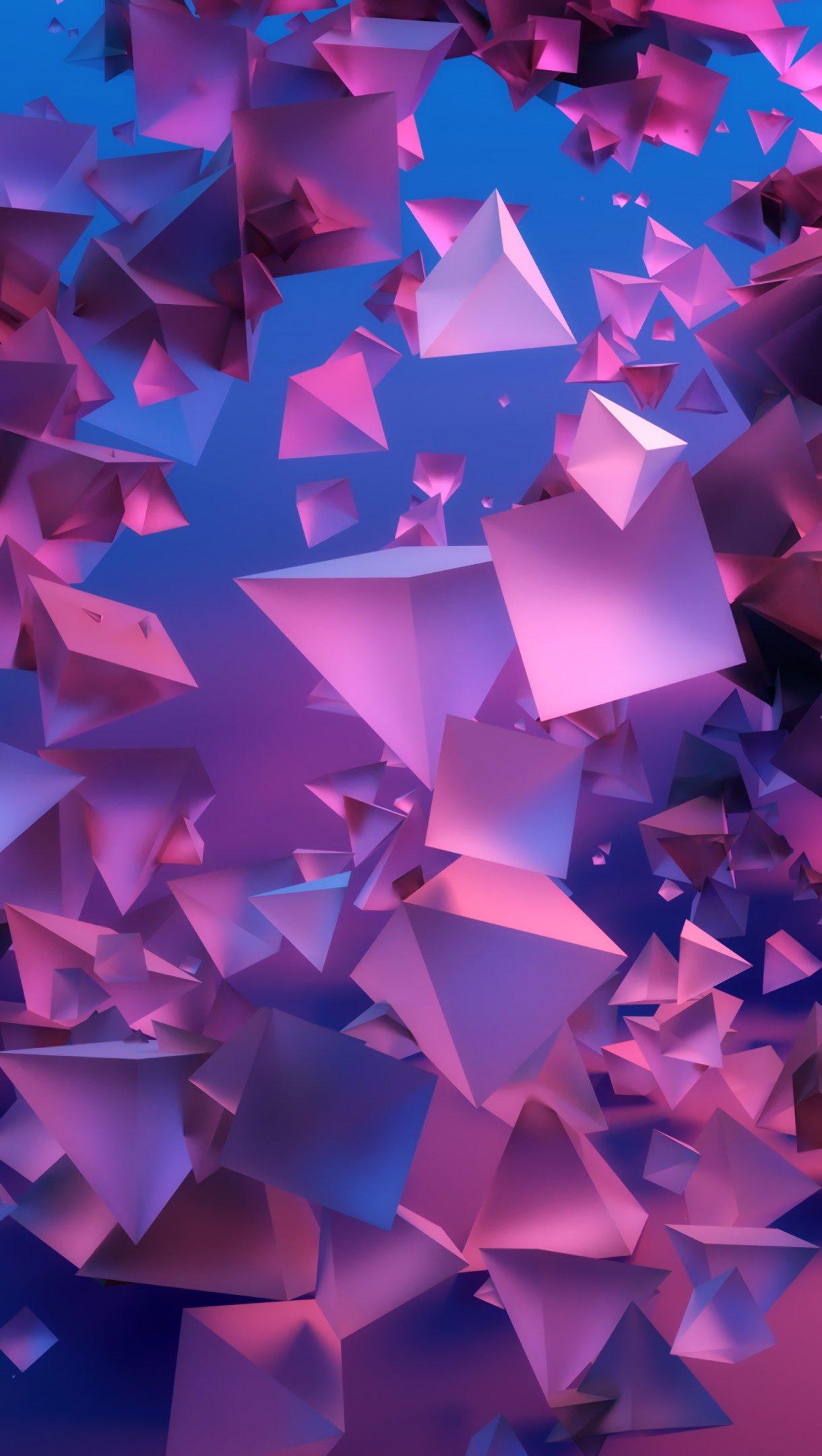 Abstract 3d Pyramids Wallpaper 4k Ultra HD ID:3774