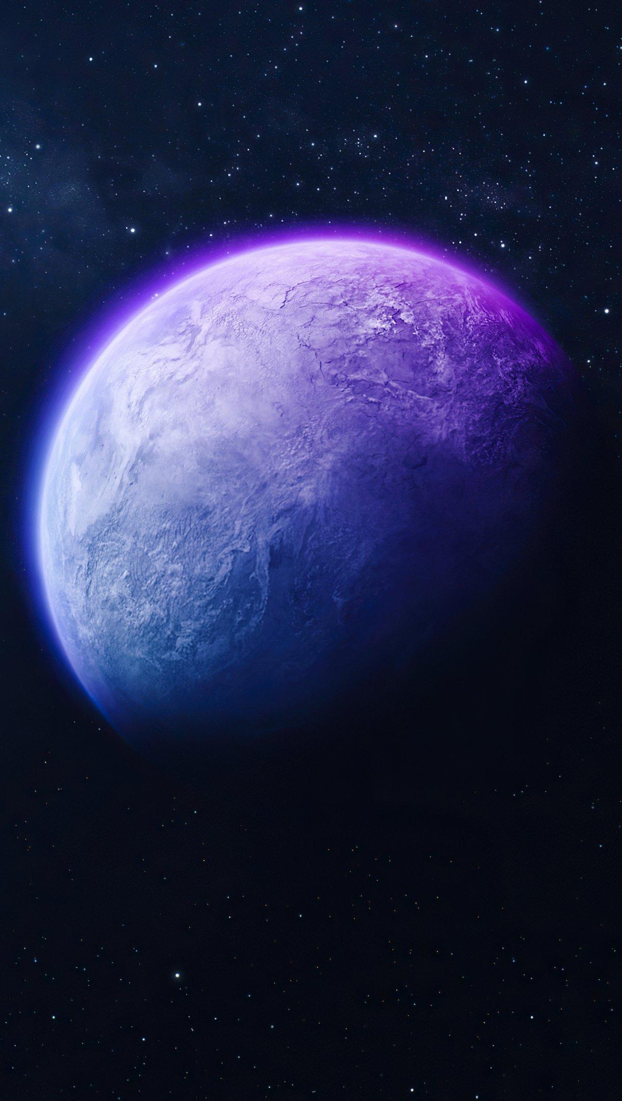 Fondos de pantalla Planeta aislado Vertical