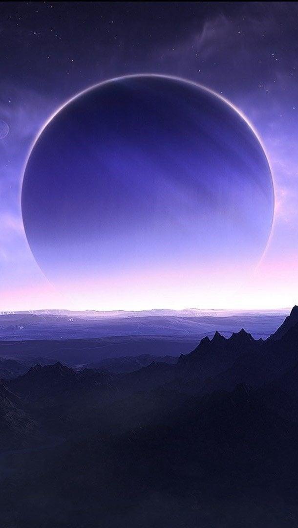 Fondos de pantalla Planeta montañas desde el cielo Vertical