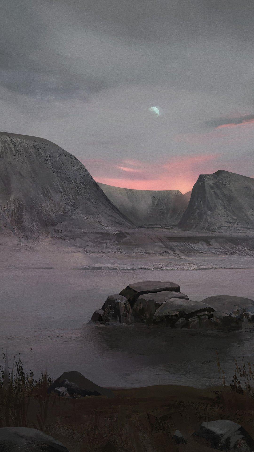 Fondos de pantalla Planeta seco Vertical