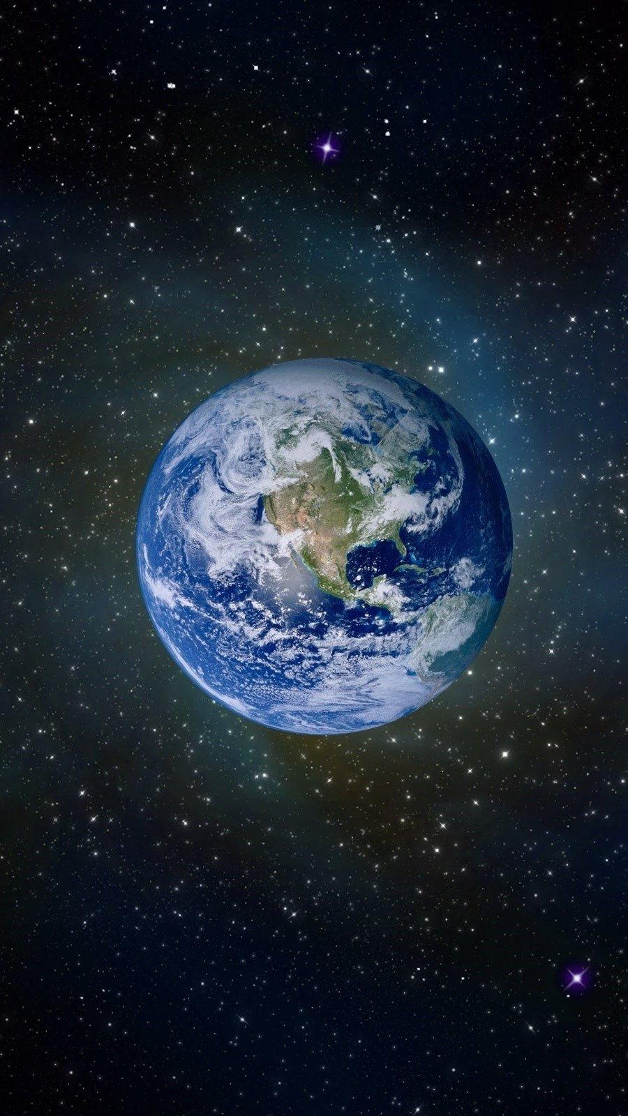 Wallpaper Planet Earth Vertical