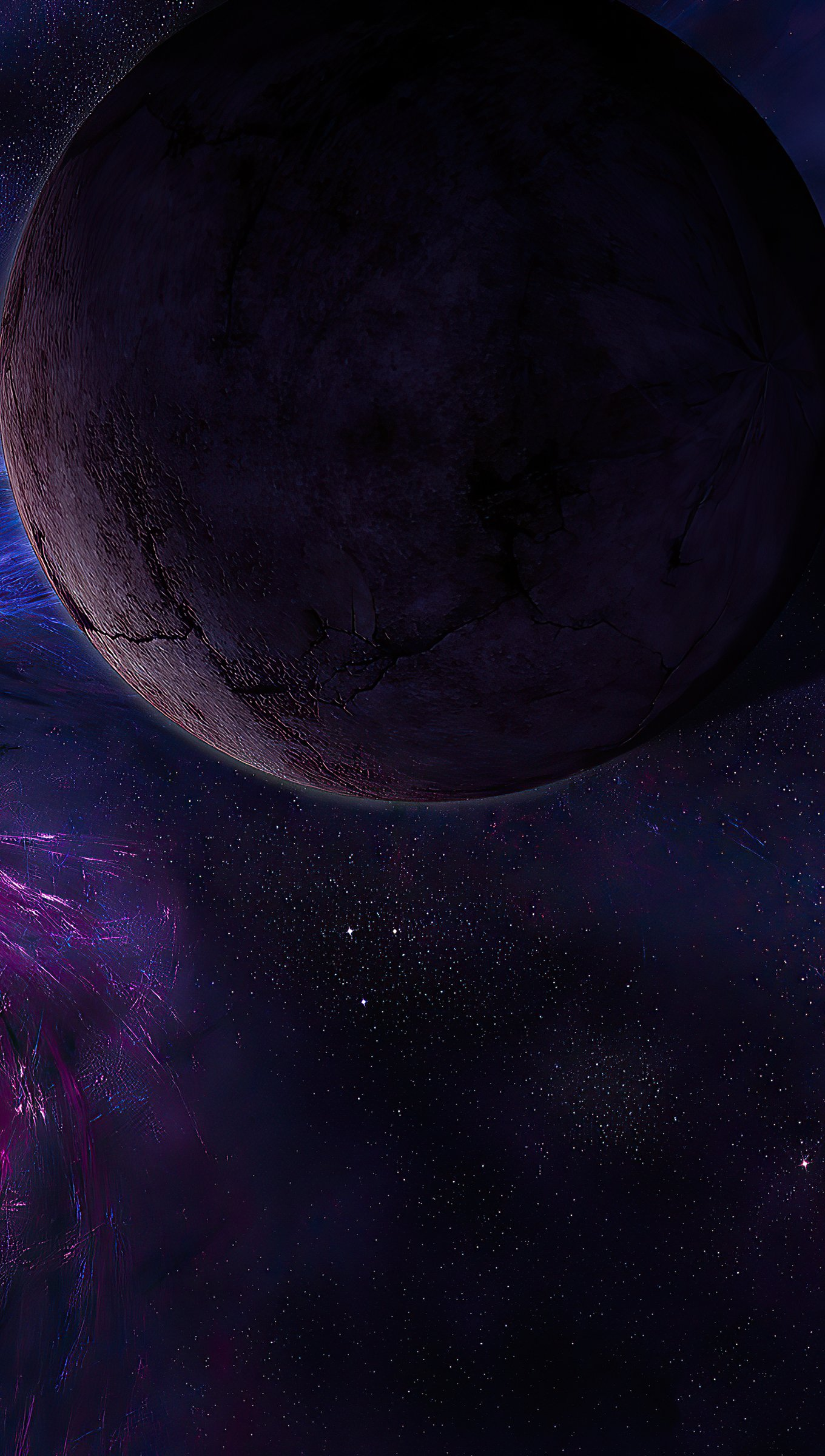 Wallpaper Sci fi Planets Vertical