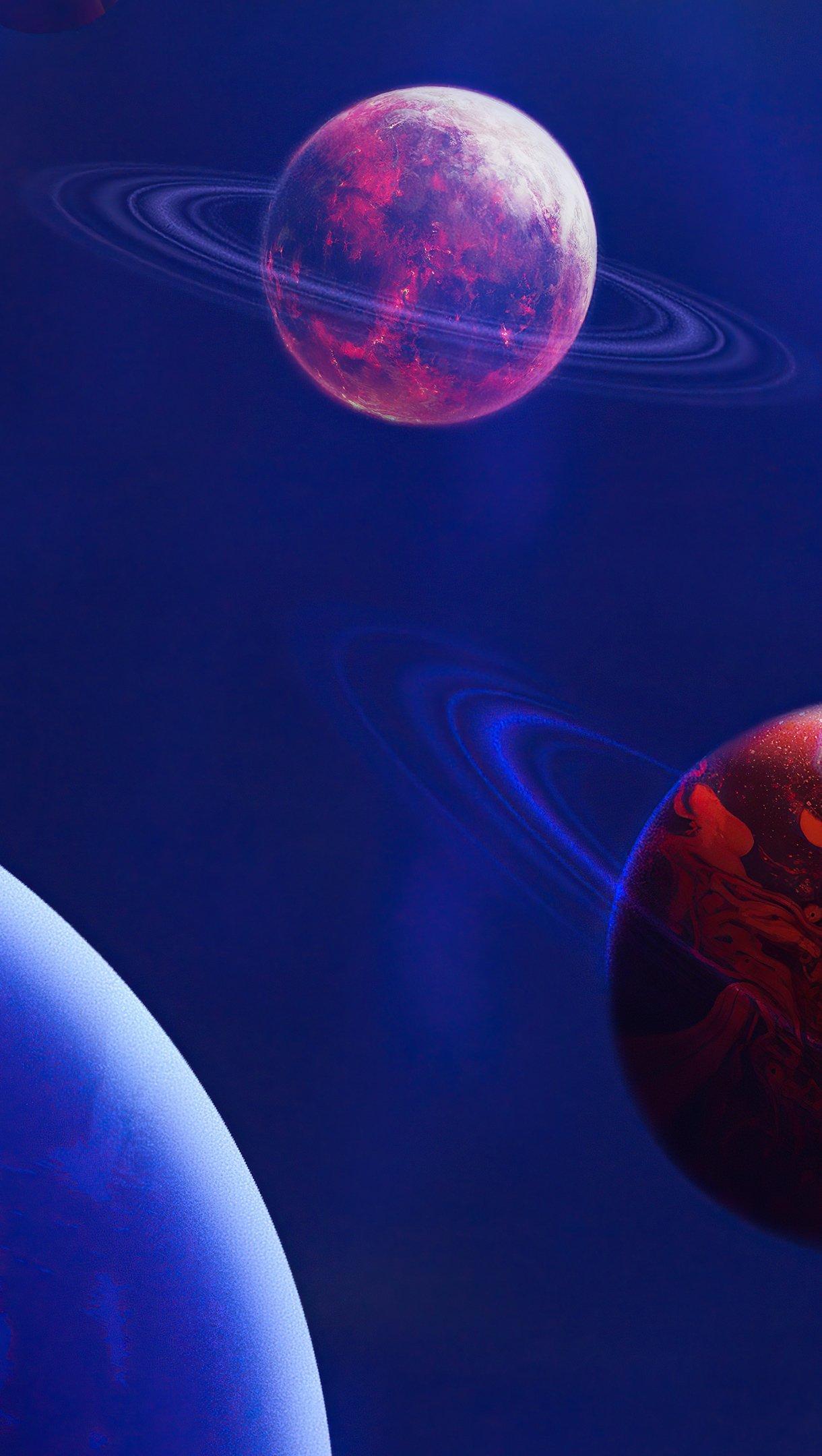 Fondos de pantalla Planetas digitales Vertical
