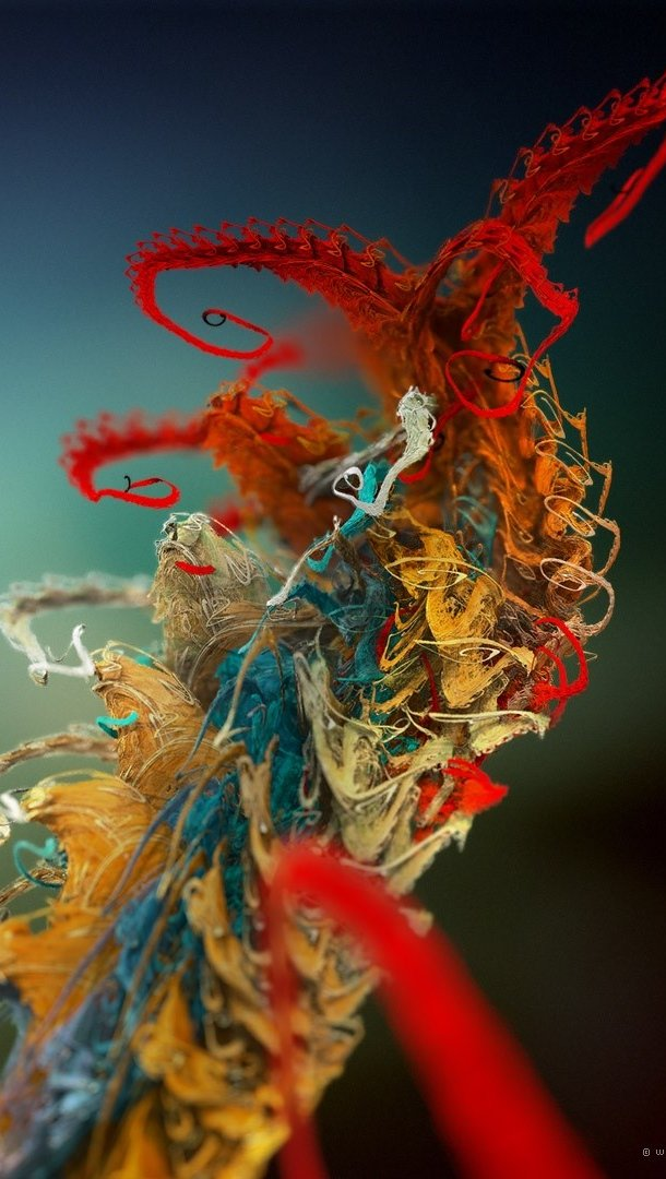 Wallpaper Microscopic plant Vertical