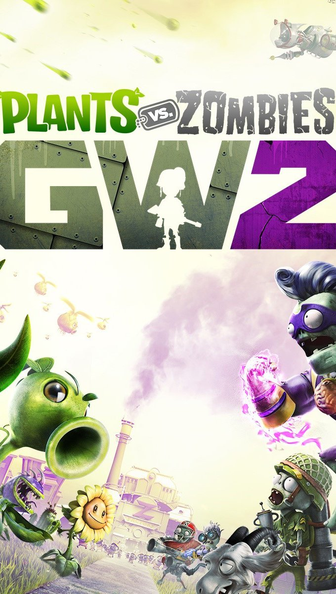 Fondos de pantalla Plants vs Zombies Garden Warfare 2 Vertical