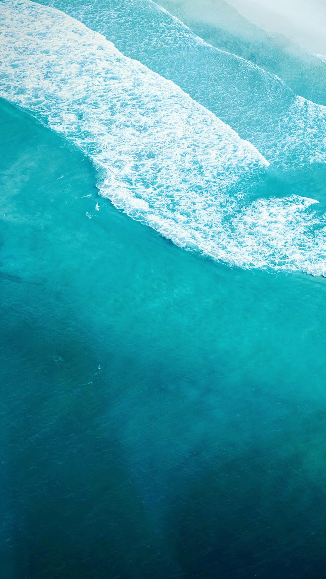 Fondos de pantalla Playa costa vista aérea Vertical