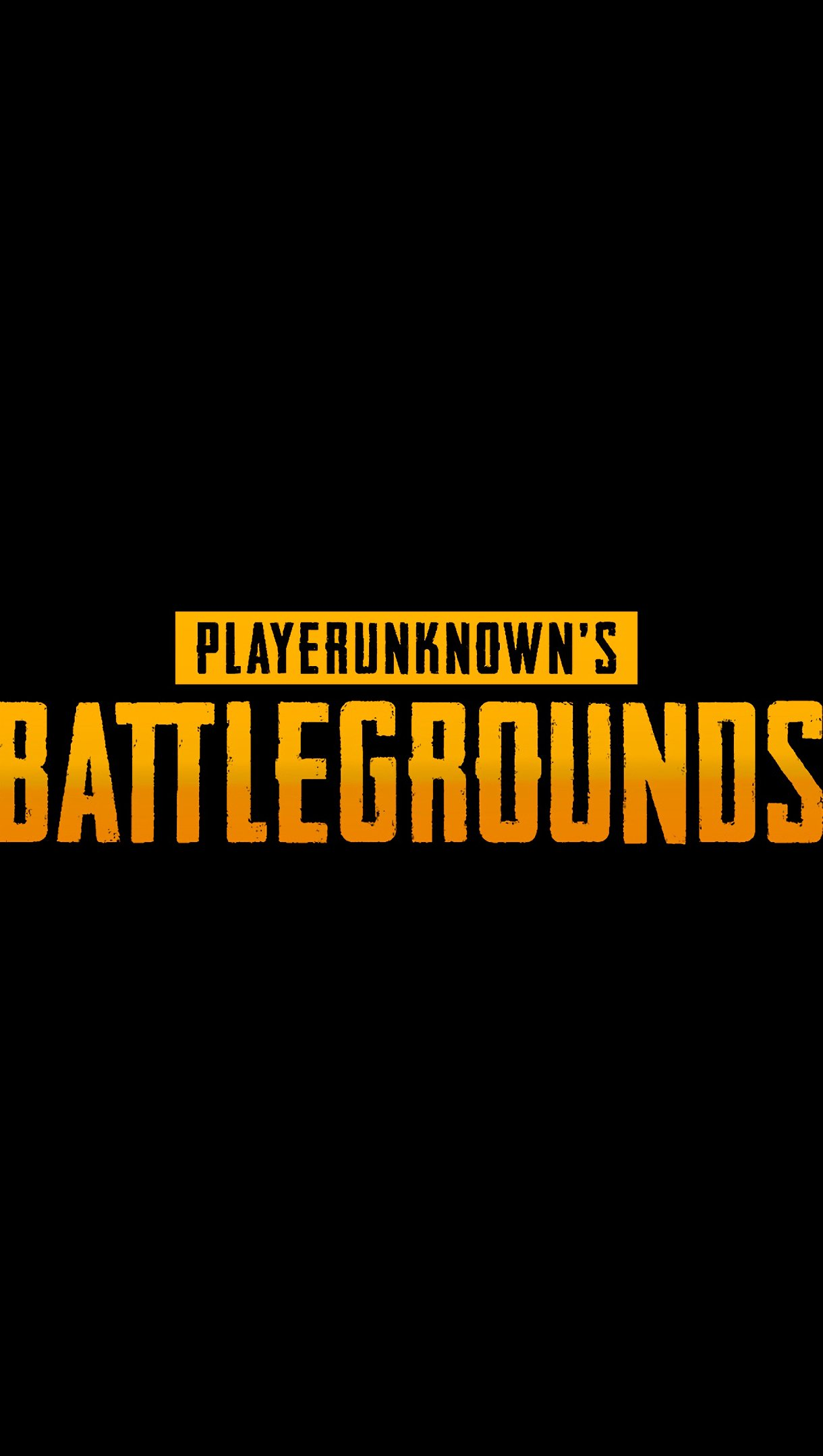 Fondos de pantalla PlayerUnknown's Battlegrounds Logo Vertical