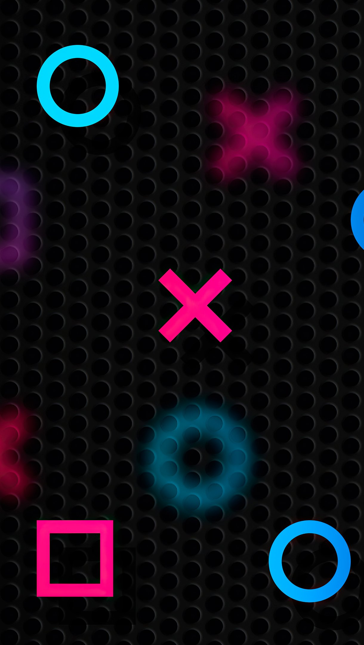 Wallpaper PlayStation Abstract Vertical