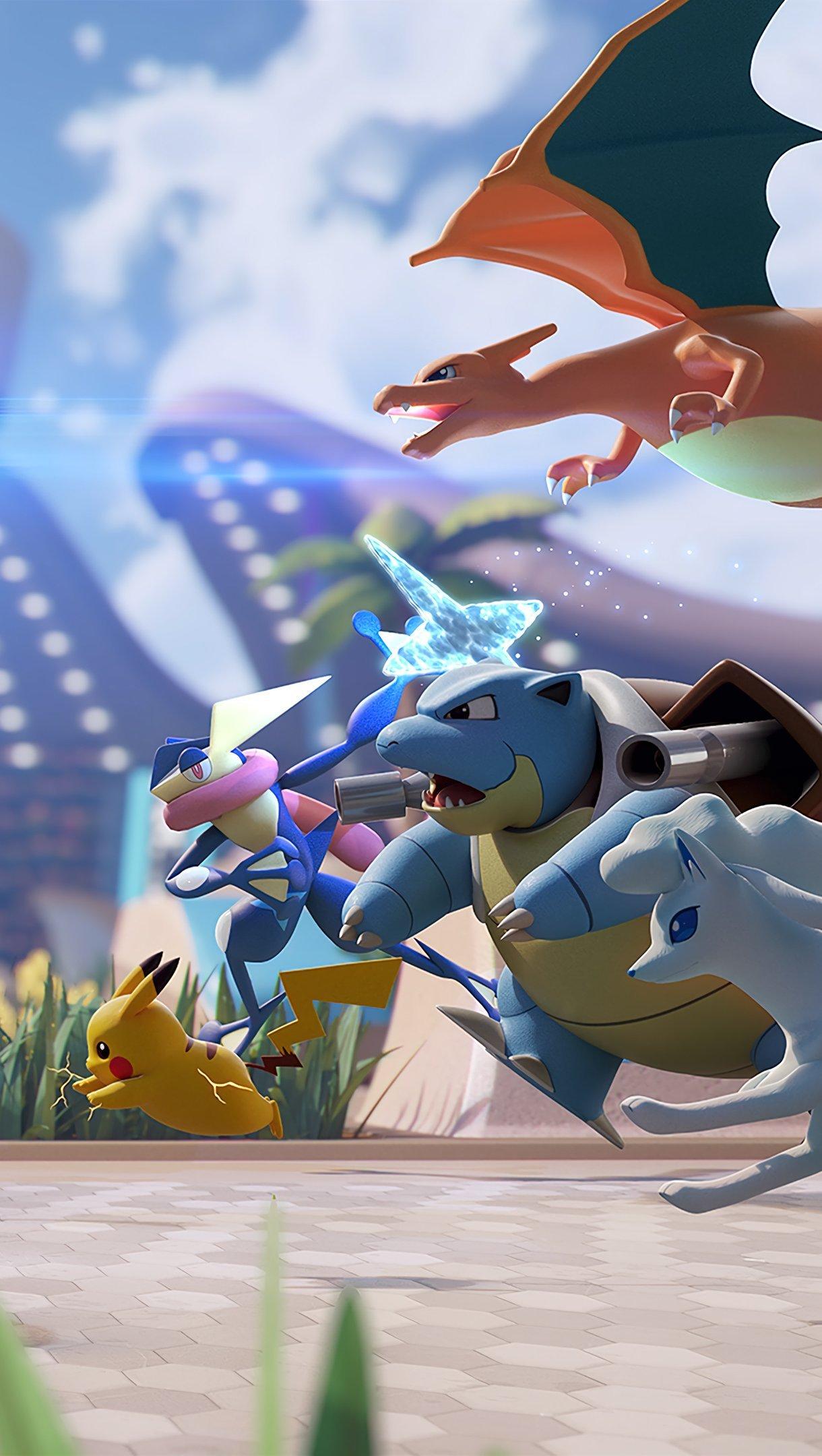 Wallpaper Pokemon Unite Vertical