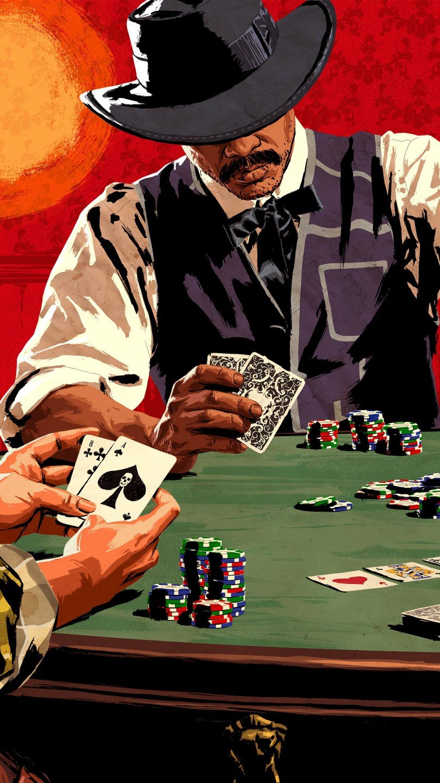 Fondos de pantalla Poker en Red Dead Redemption Vertical