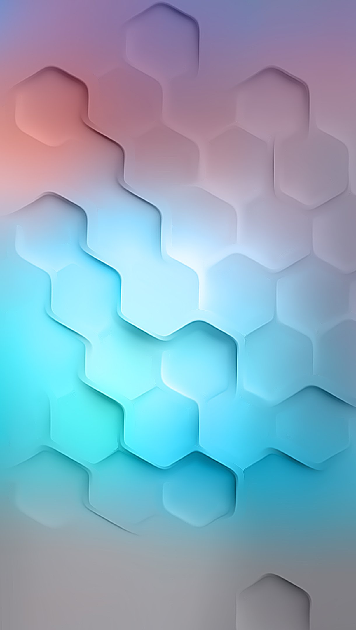 Wallpaper Polygons abstract Vertical