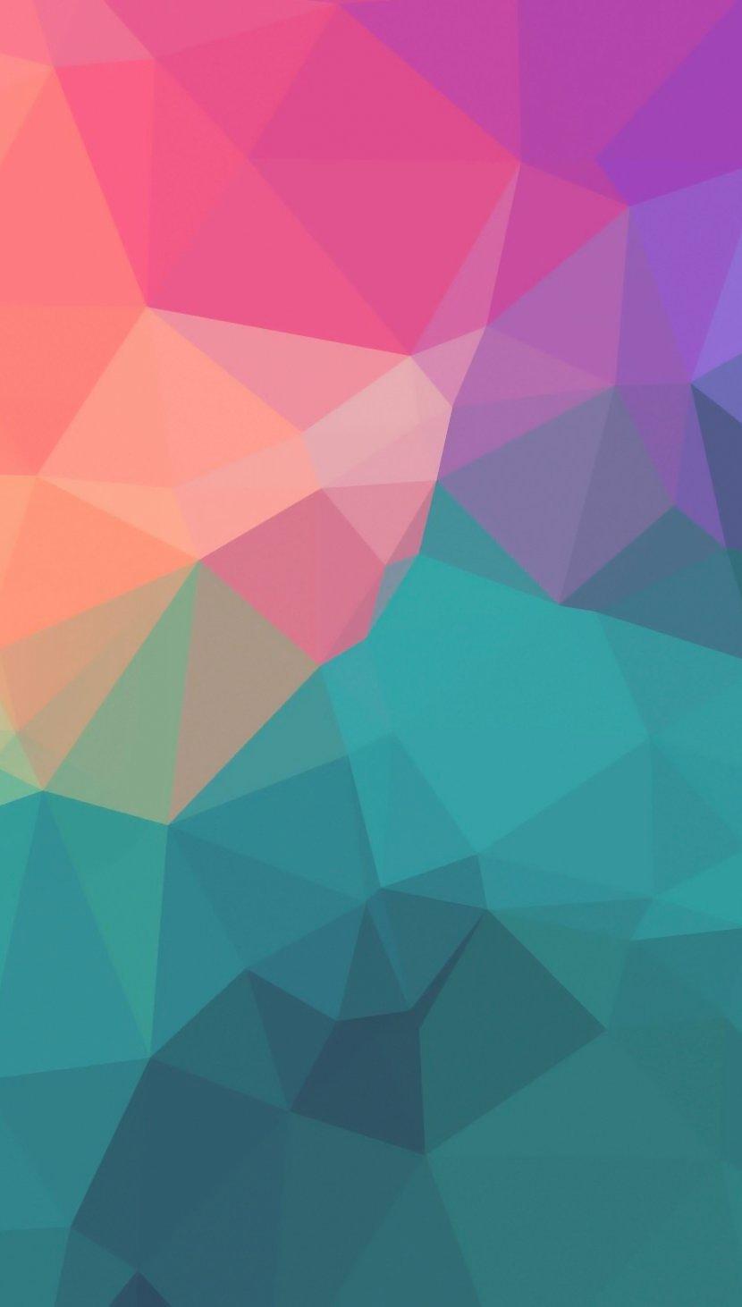 Fondos de pantalla Polígonos de colores Vertical