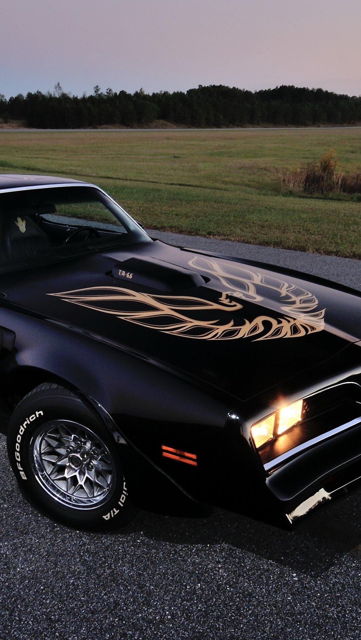 Wallpaper Pontiac Firebird 1978 Vertical