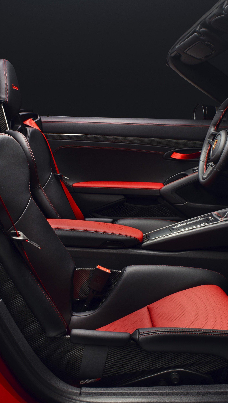 Fondos de pantalla Porsche 911 Speedster Rojo Vertical