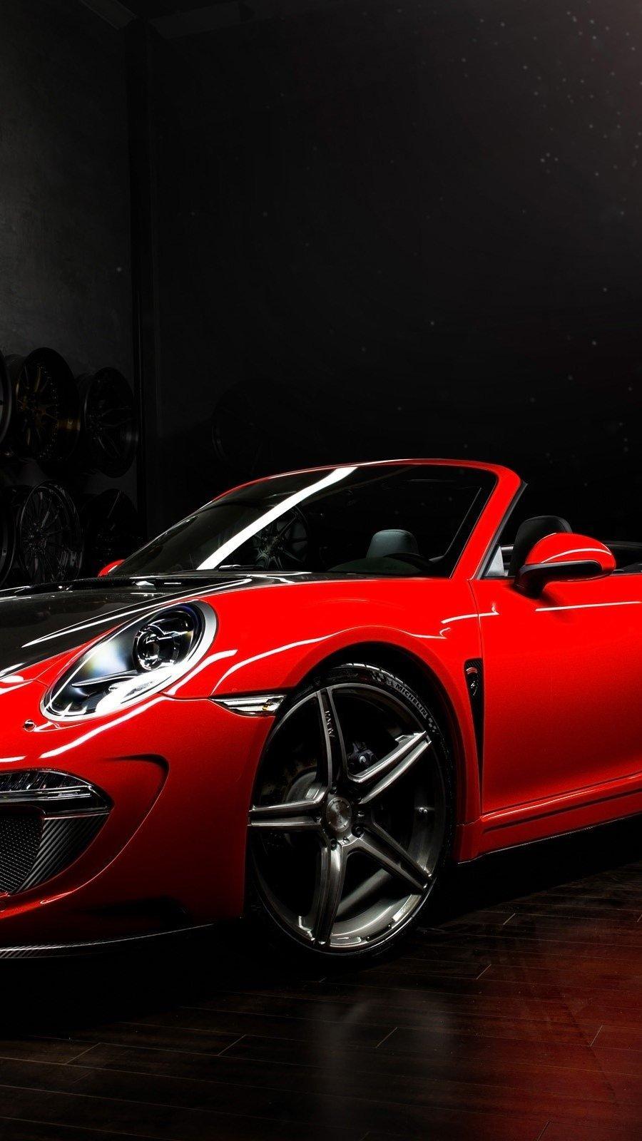 Fondos de pantalla Porsche 991 Carrera Cabriolet Stinger Vertical