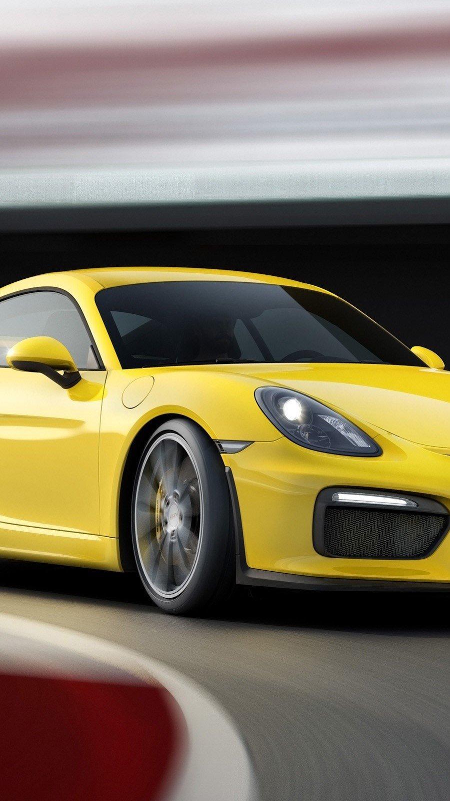 Fondos de pantalla Porsche Cayman GT4 Vertical
