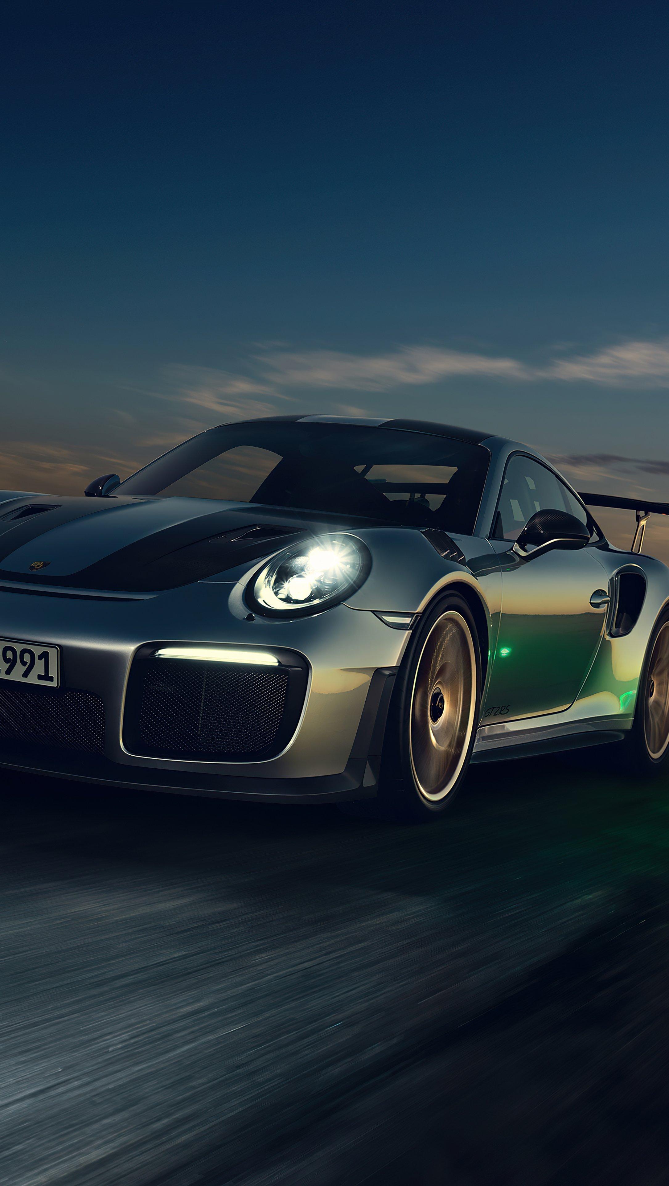 Fondos de pantalla Porsche GT2 Vertical