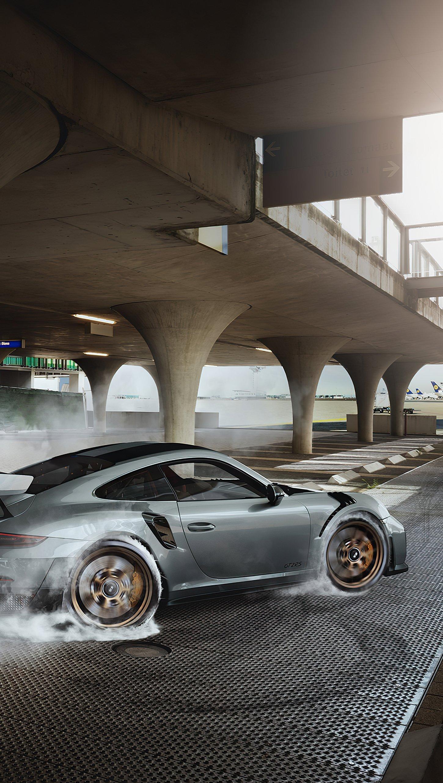 Fondos de pantalla Porsche GT2 RS Vertical