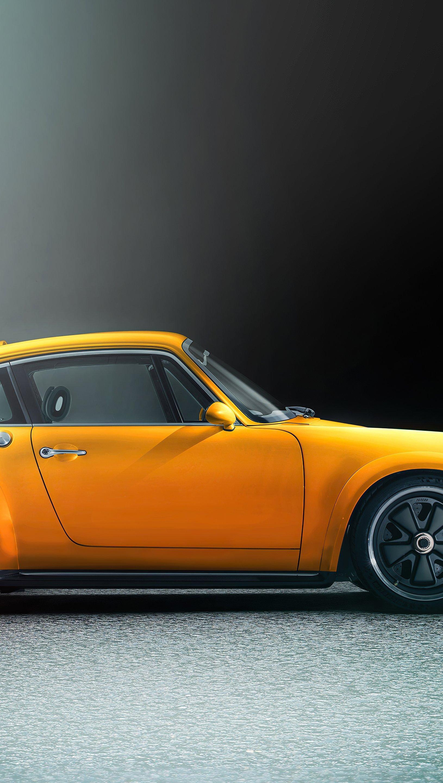 Wallpaper Porsche Singer Vertical