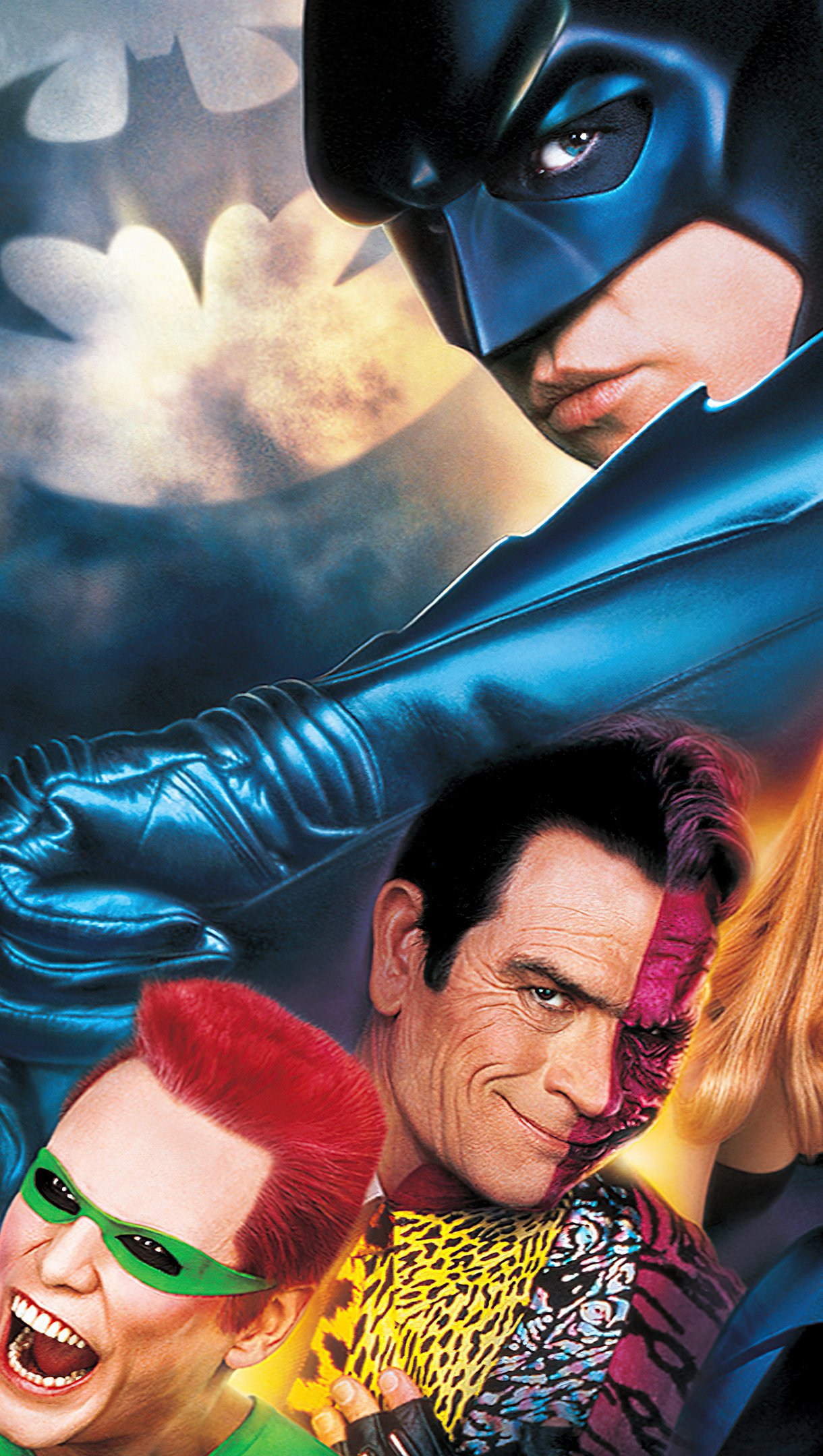 Wallpaper Batman Forever Poster Vertical
