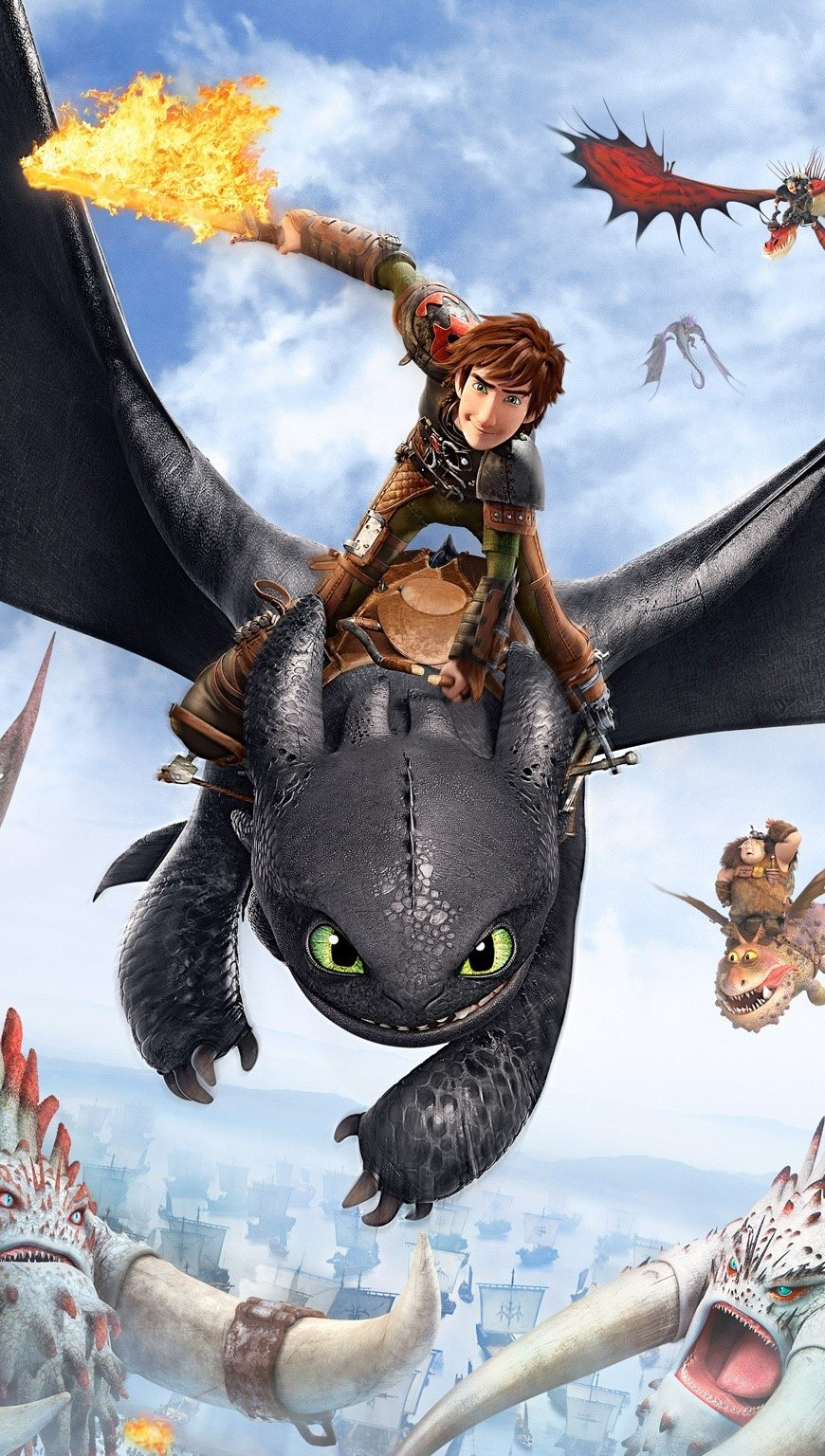Wallpaper Poster of How to train your dragon Vertical