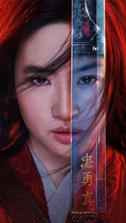 Fondos de pantalla Poster de Mulan Vertical