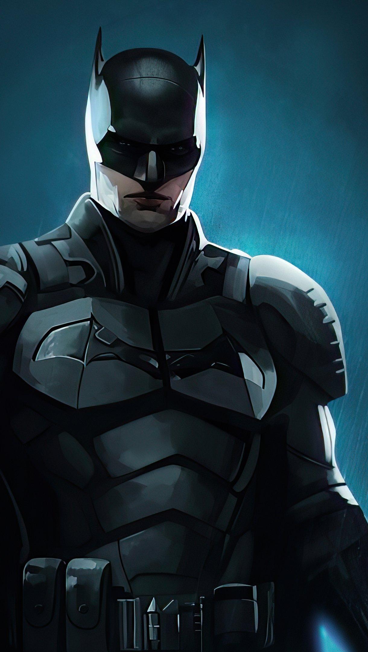 Fondos de pantalla Poster de The Batman 2021 Vertical