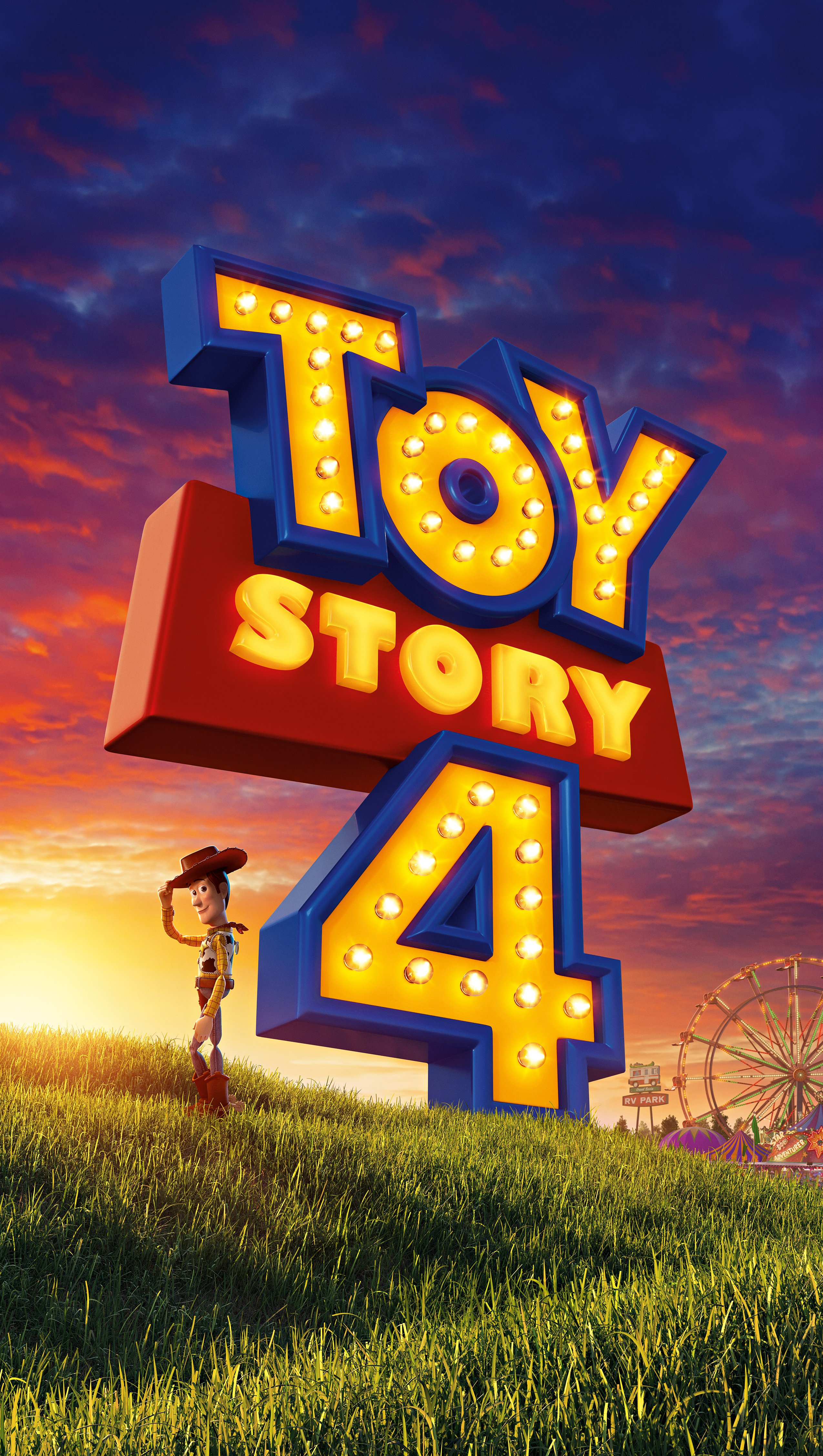Wallpaper Toy Story 4 Poster Woody Vertical
