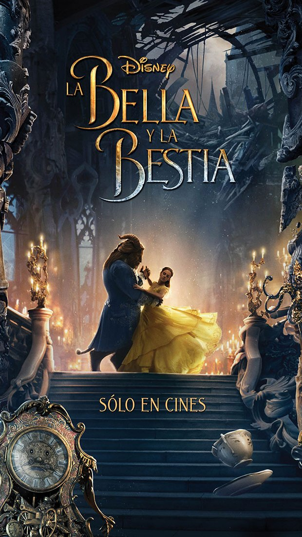 Wallpaper Poster Beauty and the Beast Vertical