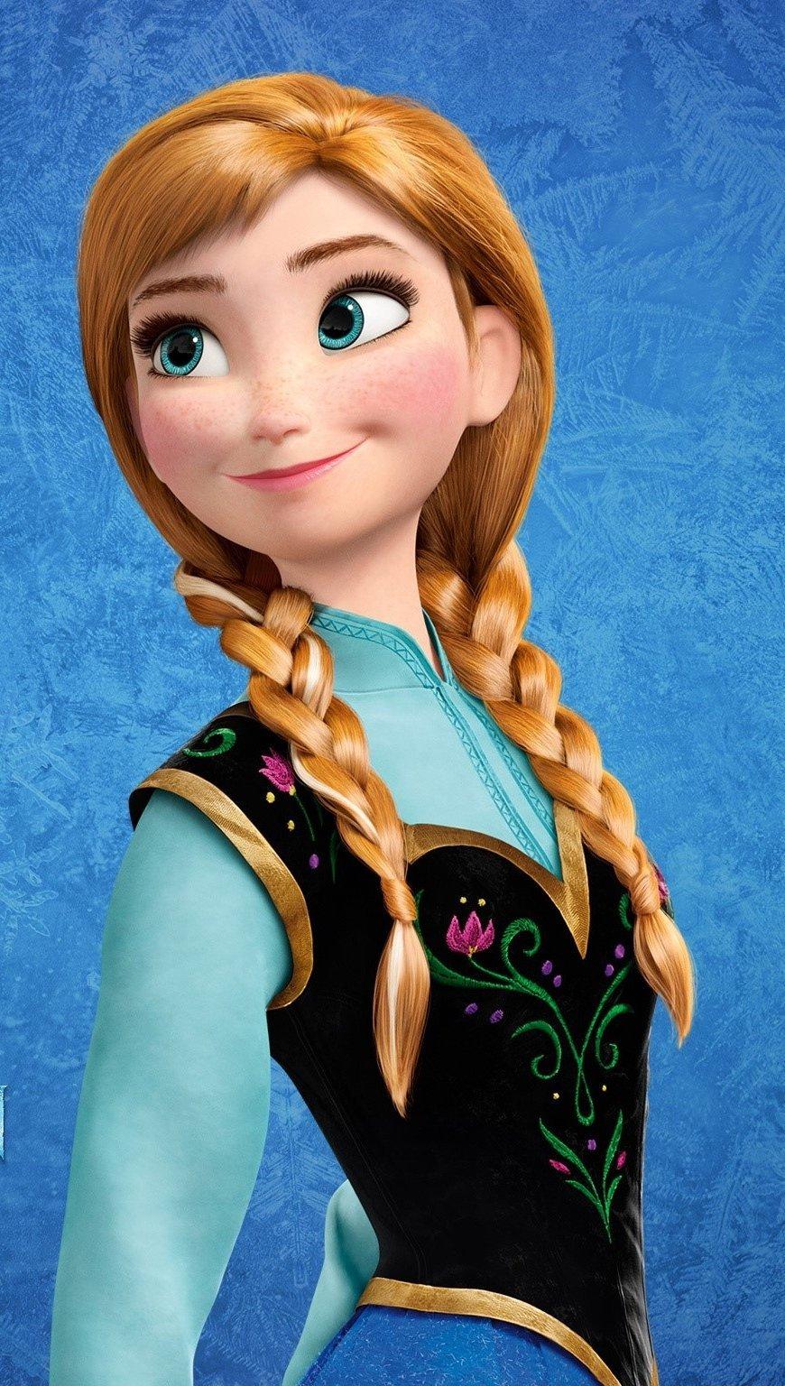 Fondos de pantalla Princesa Anna en Frozen Vertical
