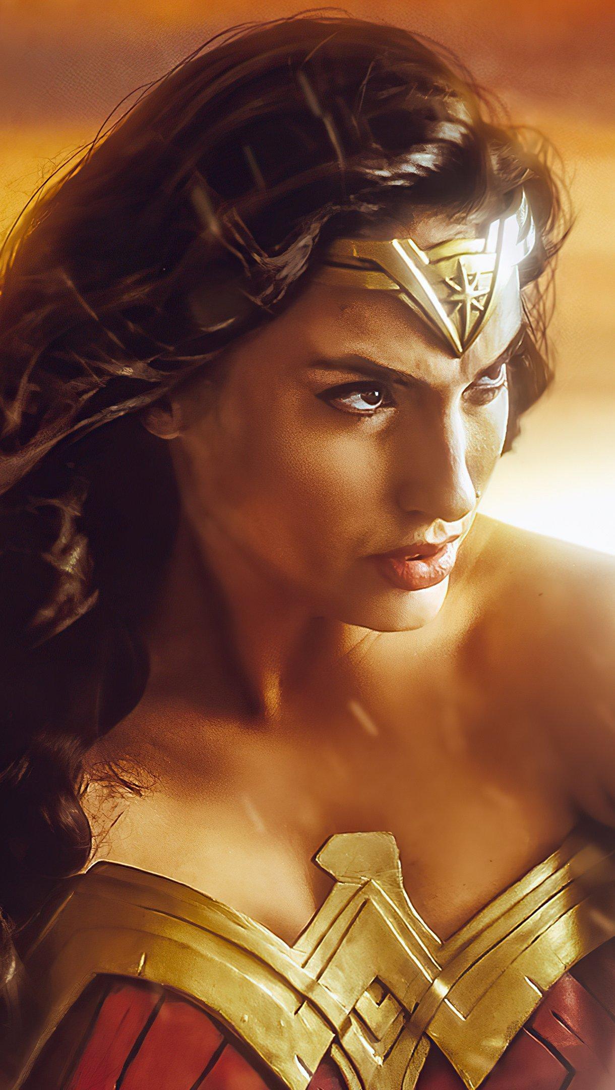 Wallpaper Princess of Themyscira Vertical