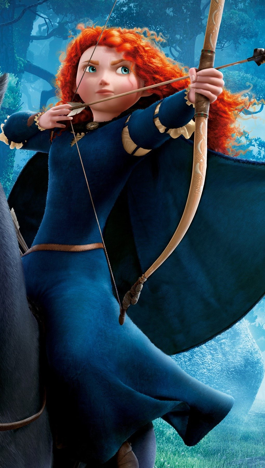 Wallpaper Princess Merida Vertical