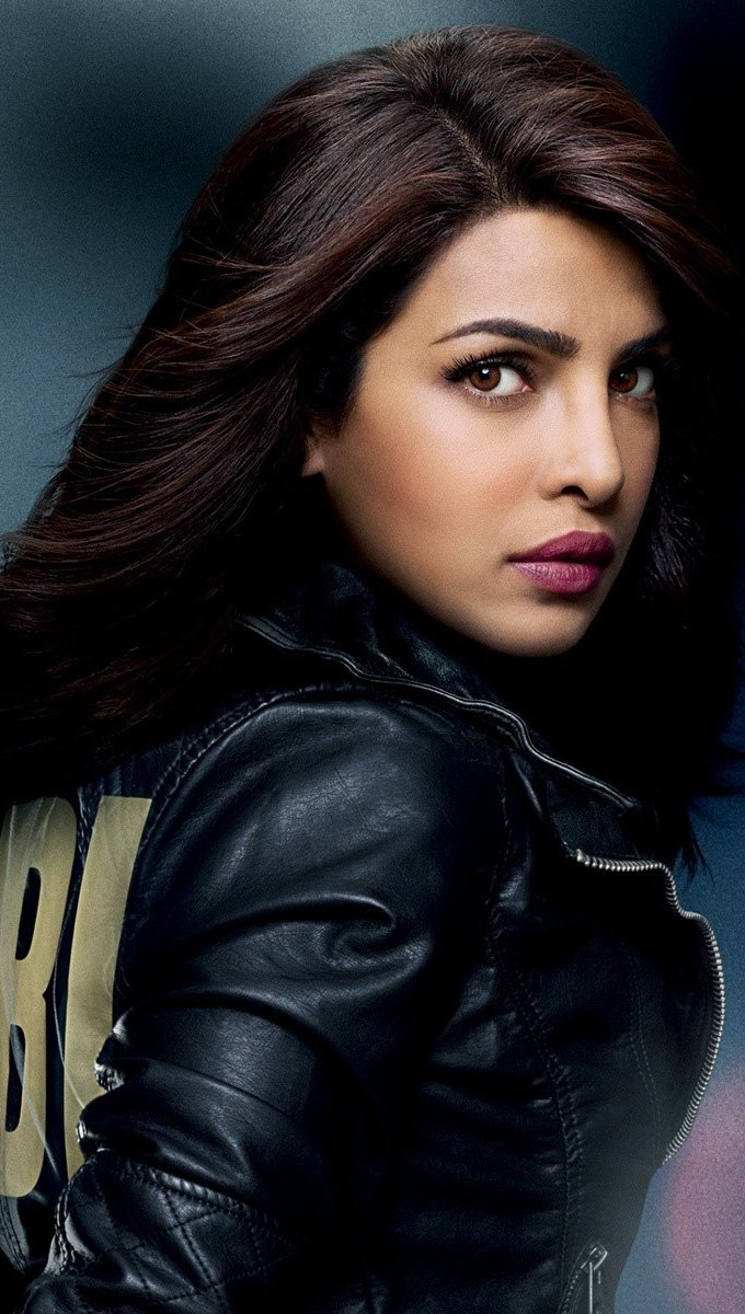 Wallpaper Priyanka Chopra in the Quantico series Vertical
