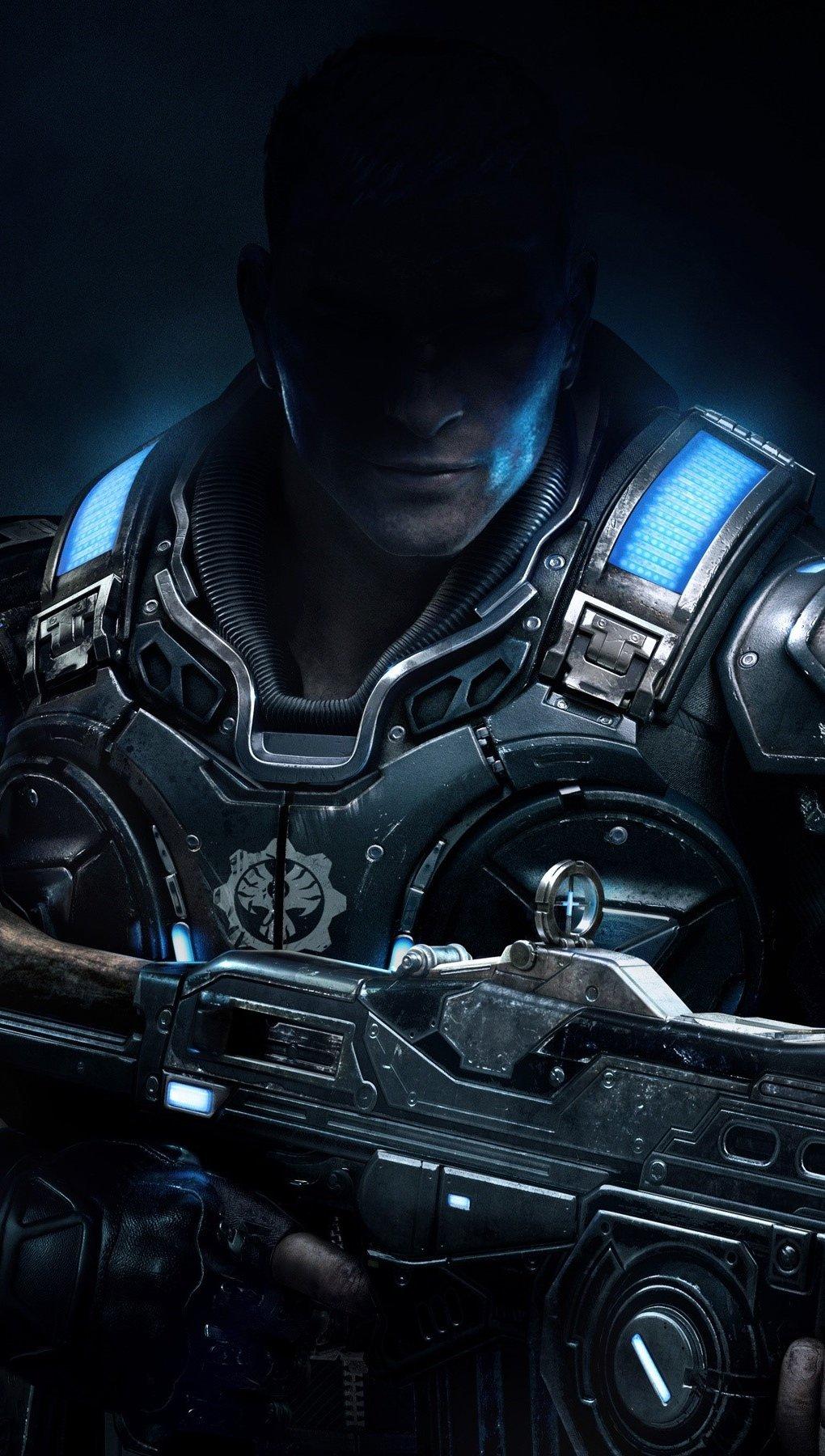 Wallpaper Star of Gears Of War 4 Vertical