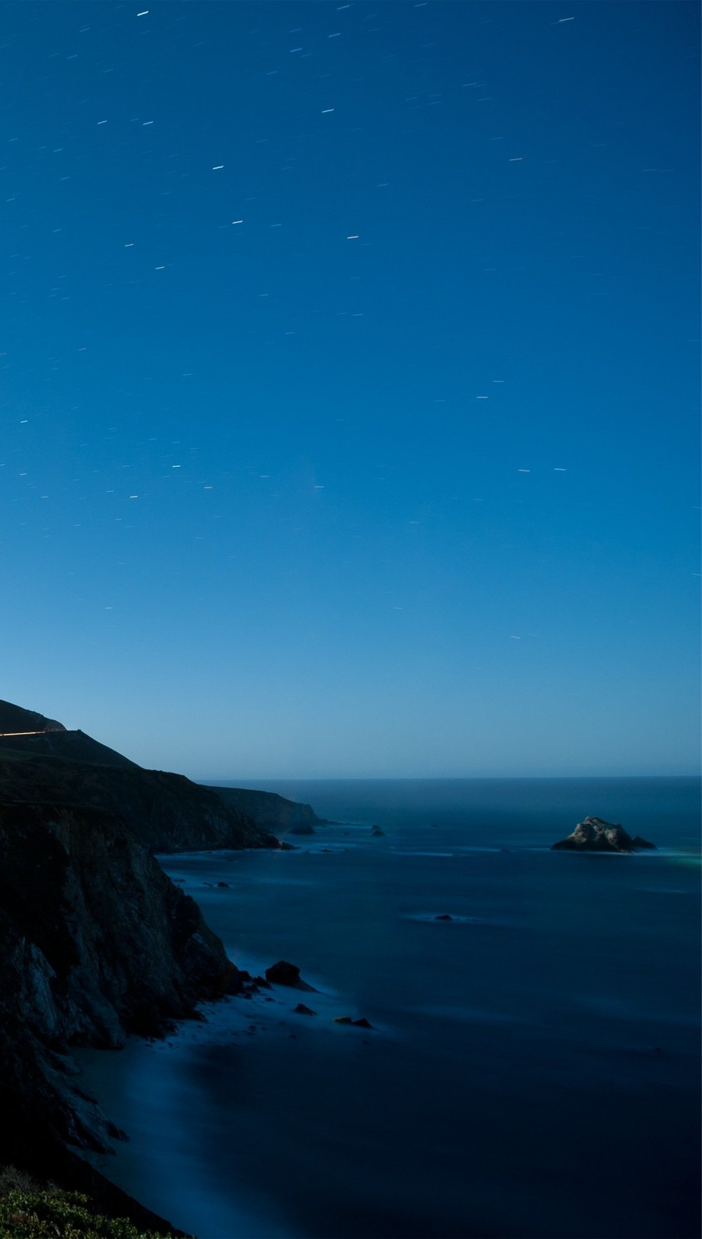 Wallpaper Bixby creek bridge Vertical