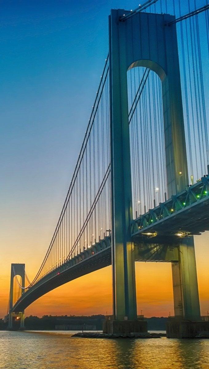 Fondos de pantalla Puente de Verrazano Vertical