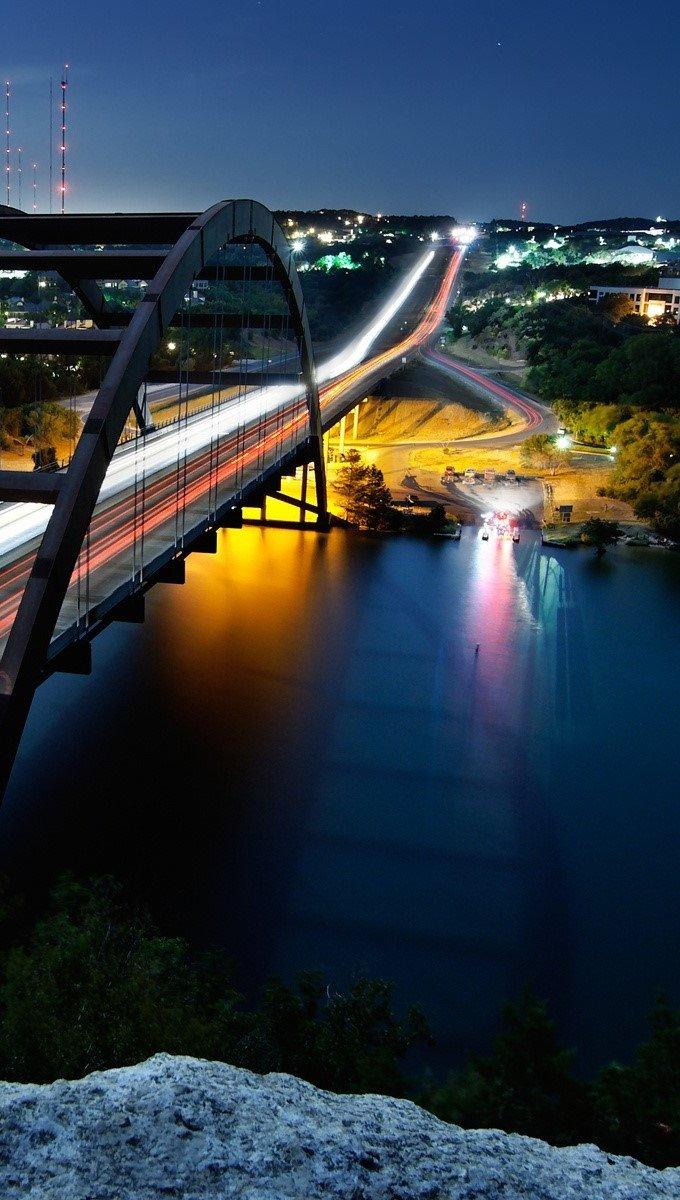 Fondos de pantalla Puente Pennybacker Vertical