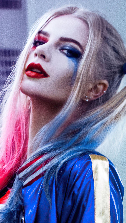 Fondos de pantalla Quién se mete con Harley Quinn otra vez Vertical