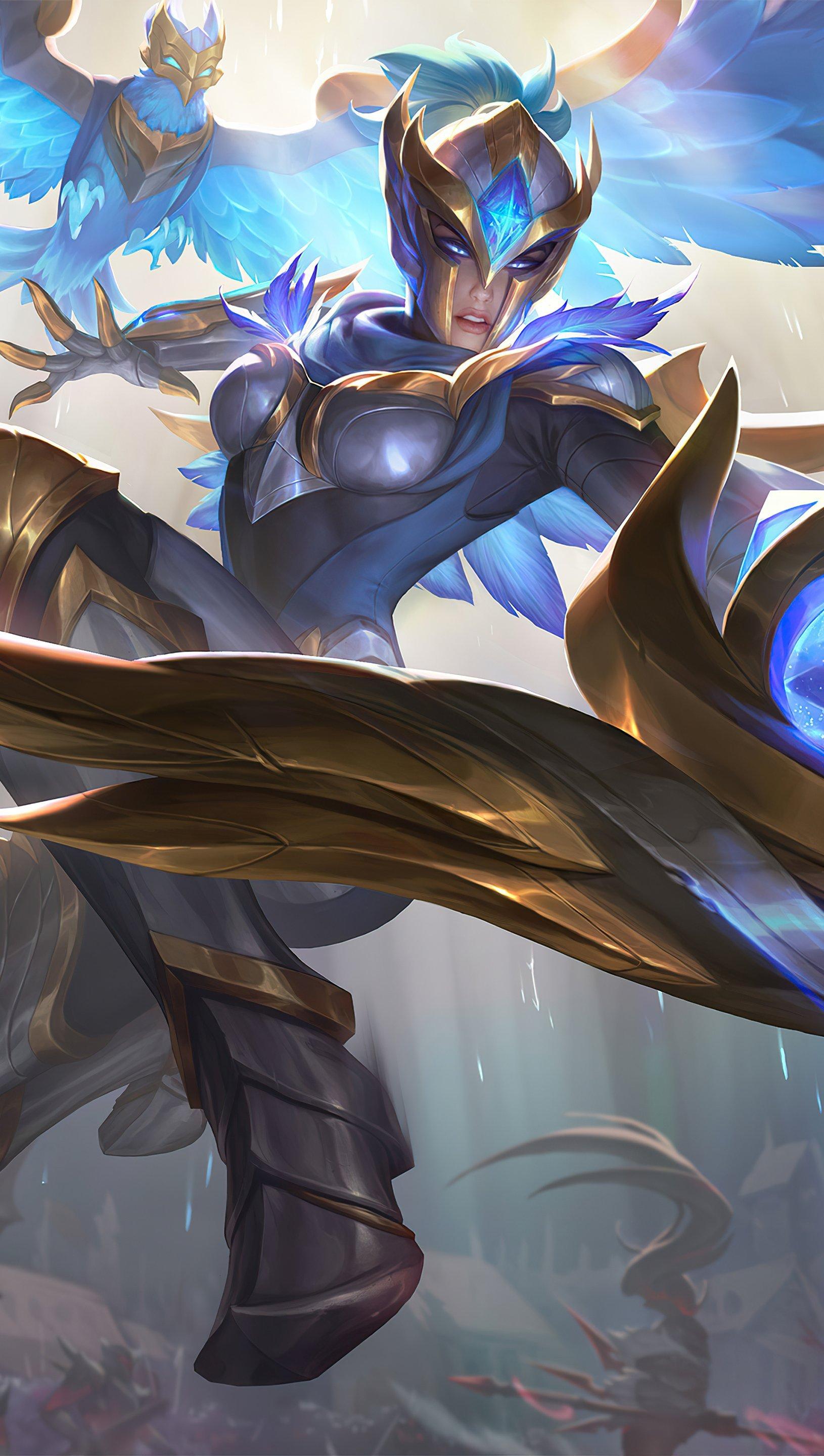 Fondos de pantalla Quinn League of Legends Vertical