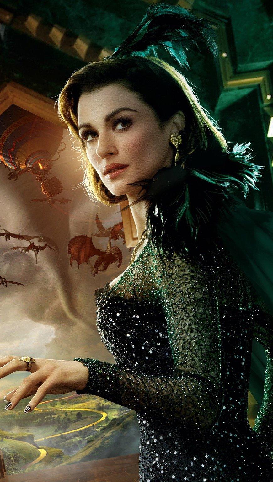 Fondos de pantalla Rachel Weisz en El gran y poderoso Oz Vertical