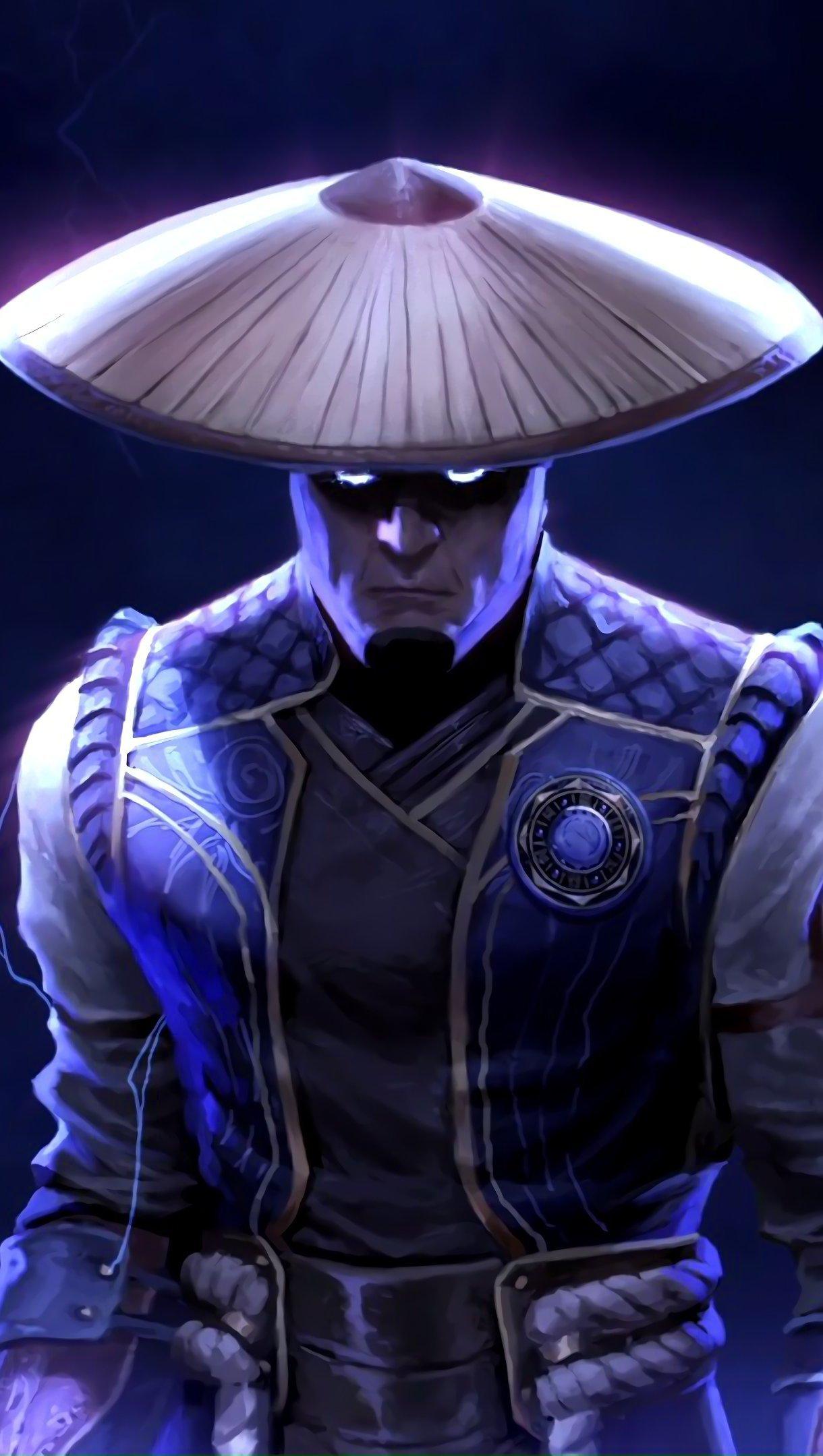 Fondos de pantalla Raiden de Mortal Kombat Vertical