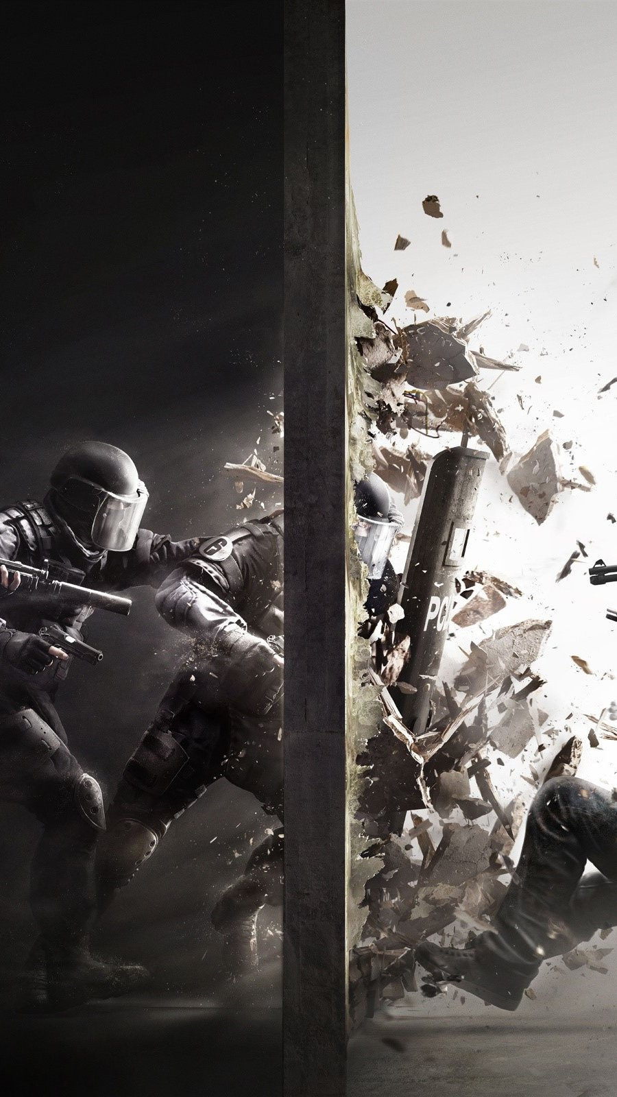 Wallpaper Rainbow Six Siege Vertical