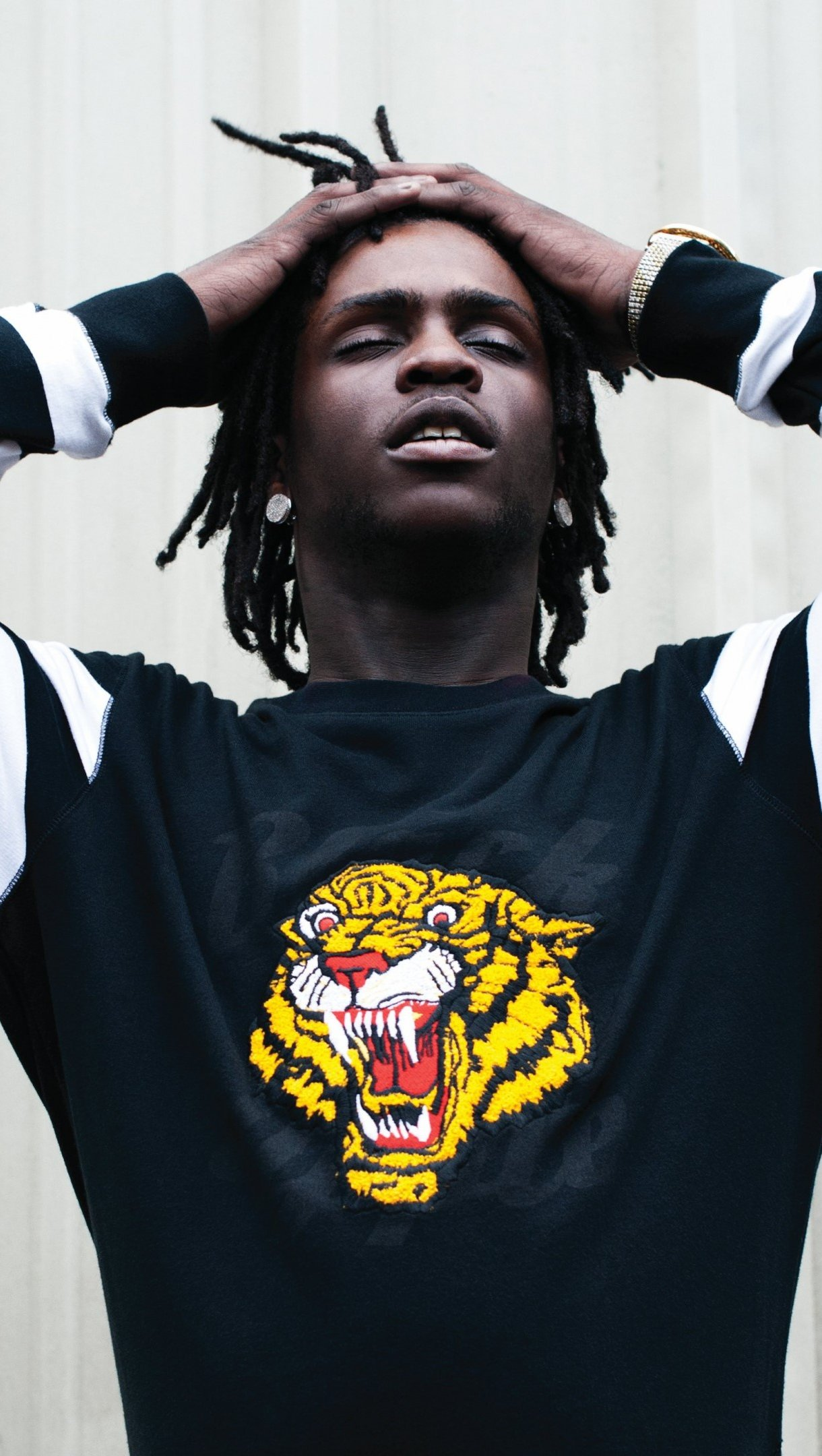 Wallpaper Rapper Chief Keep in photoshoot Vertical