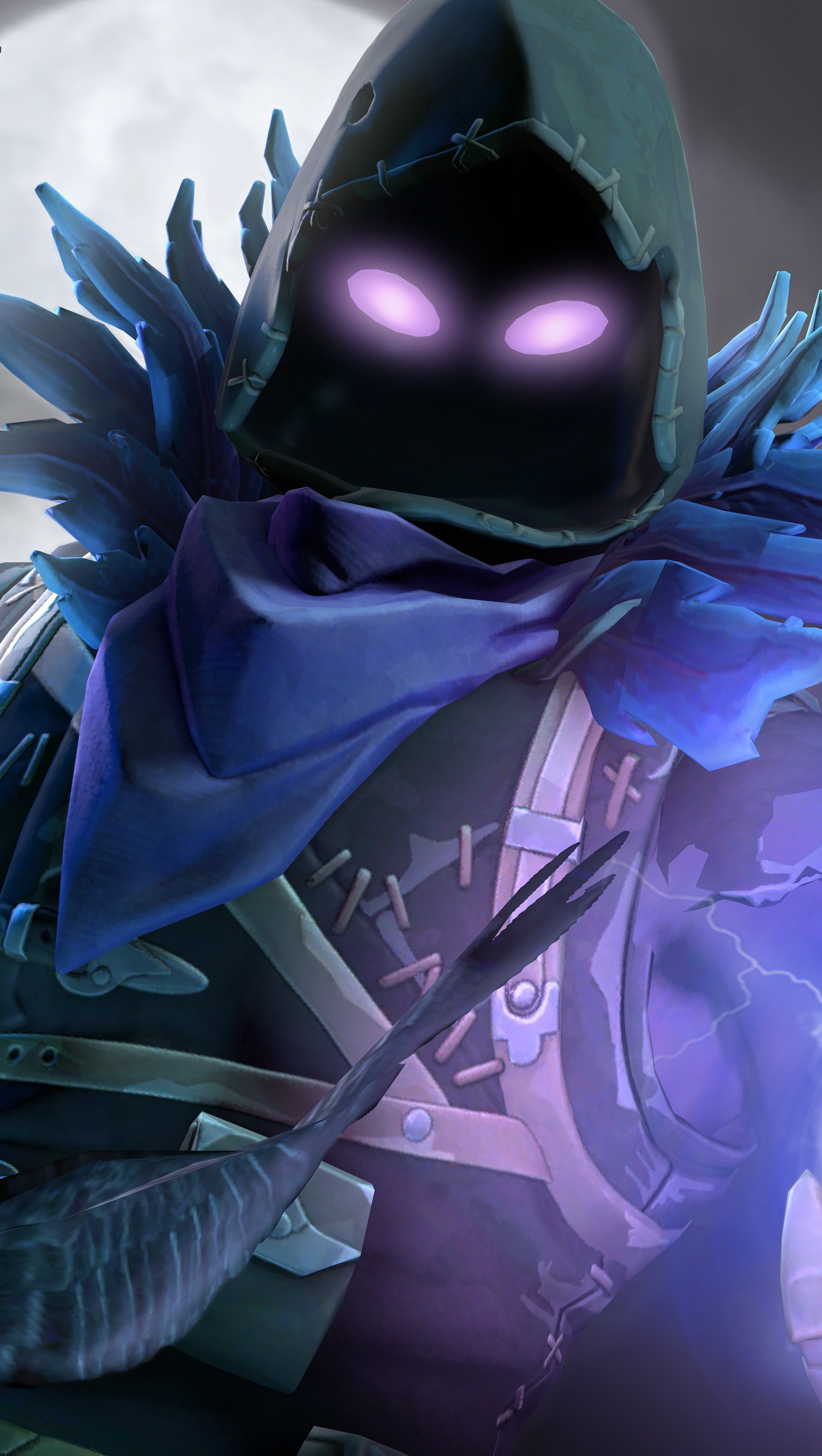 Fondos de pantalla Raven Fortnite Battle Royale Vertical
