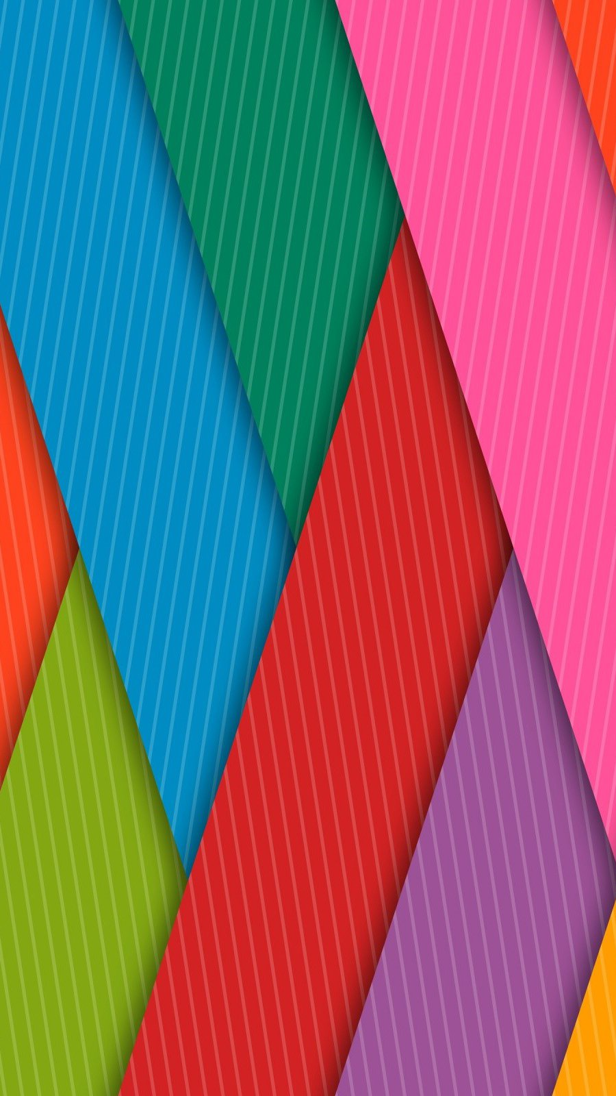 Wallpaper Colorful stripes Vertical