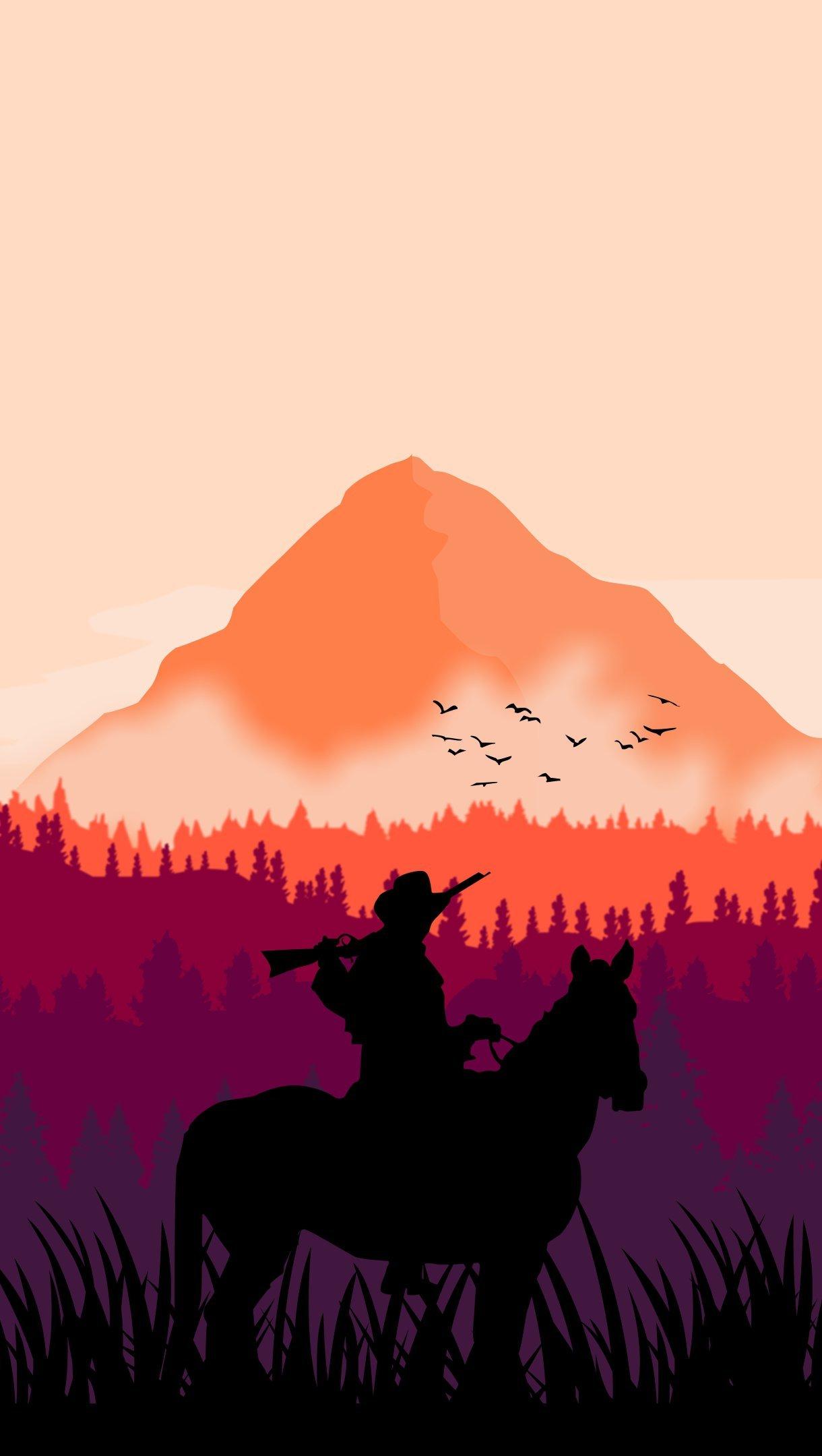 Fondos de pantalla Red Dead Redemption 2 Vertical